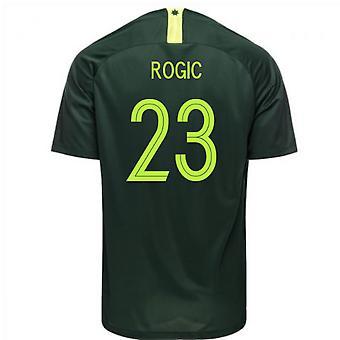 2018-2019 Australien Away Nike Fußballtrikot (Rogic 23)