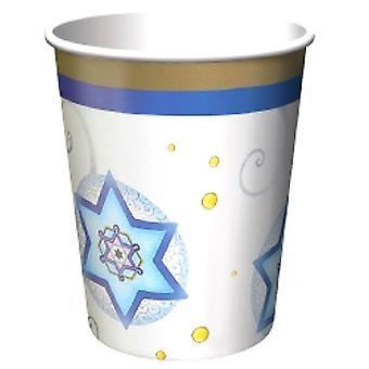 Judaica 9oz Paper Cups