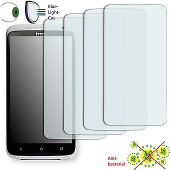 HTC one XL EU screen protector - Disagu ClearScreen protector (deliberately smaller than the display, as this is arched)
