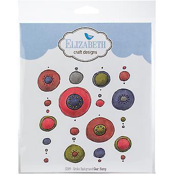 Elizabeth Craft Clear Stamps-Circles Background
