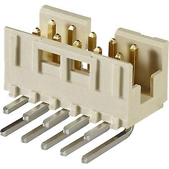 Pin connector Contact spacing: 2 mm Total number of pins: 6 No.