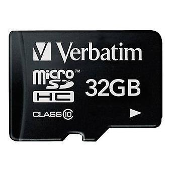 Verbatim Premium microSDHC card 32 GB classe 10