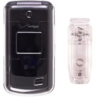 Pack 5 - Wireless Solutions Snap sur l'affaire pour LG VX5500 - Clear