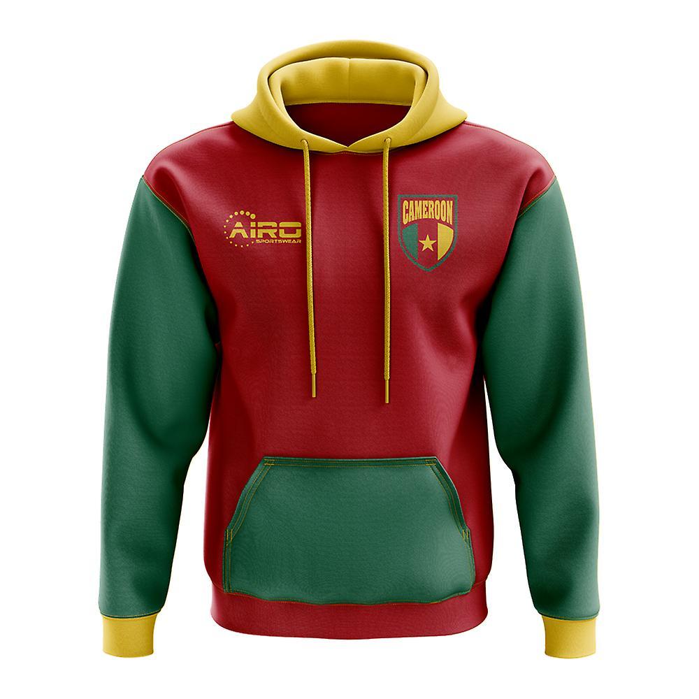 Football Cameroun Concept pays Sweat à capuche (rouge)