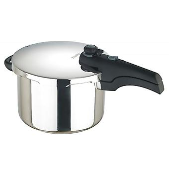 Prestige 57050 Smart Plus 6L Stainless Steel Pressure Cooker