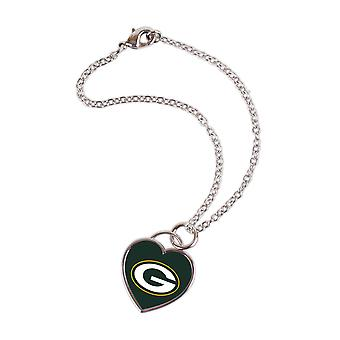 Wincraft damer 3D sentrum armbåndet - NFL Green Bay Packers