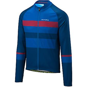 Altura Blue-Blue 2018 Airstream Long Sleeved Cycling Jersey