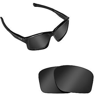 CHAINLINK Replacement Lenses Polarized Black Iridium by SEEK fits OAKLEY