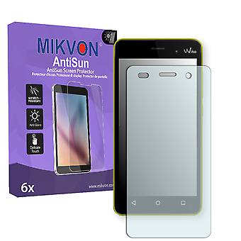 Wiko Lenny 3 Screen Protector - Mikvon AntiSun (Retail Package with accessories)