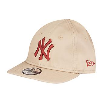 New Era 9Forty KINDER Infant Baby Cap - NY Yankees beige
