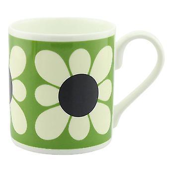 Orla Kiely quadratische Daisy Blume grün Mug