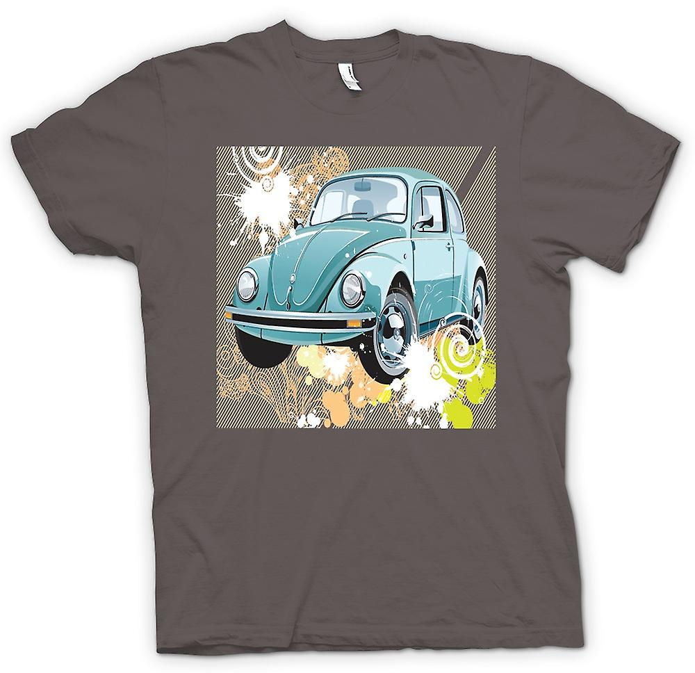 Womens T-shirt - VW Beetle - Pop Art