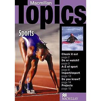 MacMillan sujets - Sports - débutant Plus par Susan Holden - 97814050949