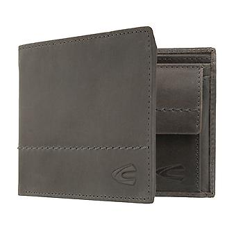 Camel active mens wallet wallet purse with RFID-chip protection grey 7385