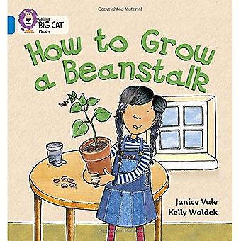 How to Grow a Beanstalk: Blue/Band 4 (Collins Big Cat Phonics)