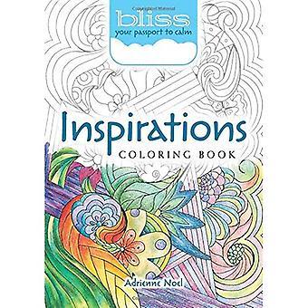 Bliss Inspirations målarbok: Ditt pass till lugn