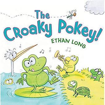 The Croaky Pokey! [Board book]