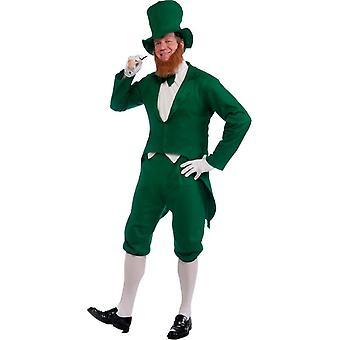 Grüner Kobold Kostüm