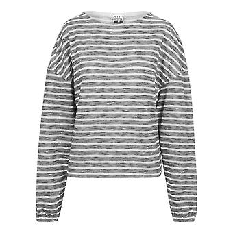 Urban classics ladies sweater oversize stripe