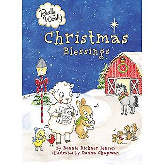Really Woolly Christmas Blessings (Really Woolly) [Board book]