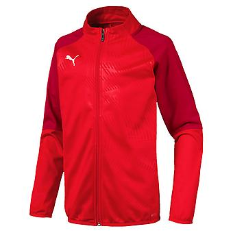 PUMA CUP training poly core children poly jacket red chili pepper