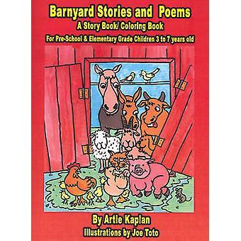 Barnyard histoires et poèmes A histoire livre BookColoring par Kaplan & Artie
