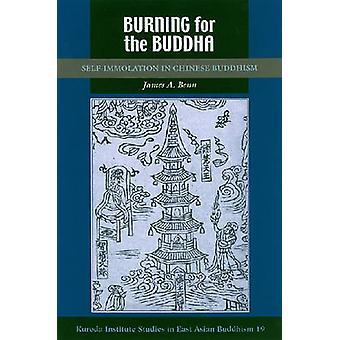 Gravure pour la SelfImmolation de Bouddha dans le bouddhisme chinois par Benn & A. James