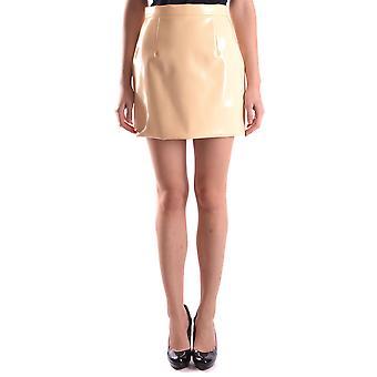 Miu Miu Yellow Nylon Skirt