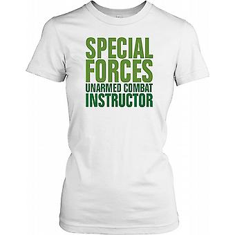 Special Forces Unarmed Combat Instructor Ladies T Shirt