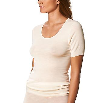 Mey Primera Off-White Short Sleeve Top 66576
