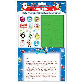 2 Letter To Santa & Reply From Santa Stationery Set - (SLET)