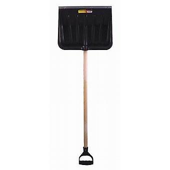 Snow Shovel / Scoop With Wooden Handle 106cm / MUCK MUCKING OUT SCOOP- pak of 4 - (SS102)