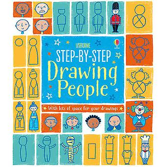 Step-by-Step Drawing People by Fiona Watt - Candice Whatmore - 978140