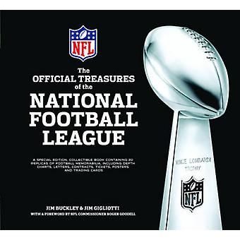 The Official Treasures of the National Football League by Jim Buckley