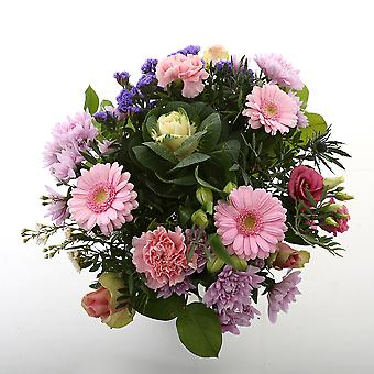 Botanicly - Bouquets | Bunch of Flowers Kim extra large, pink | Height: 50 cm