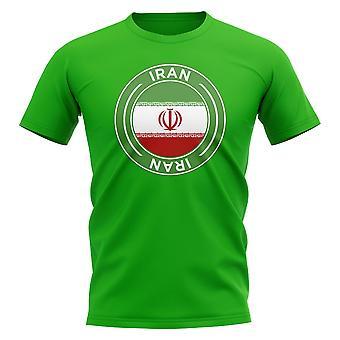 Iran Football Badge T-shirt (grön)