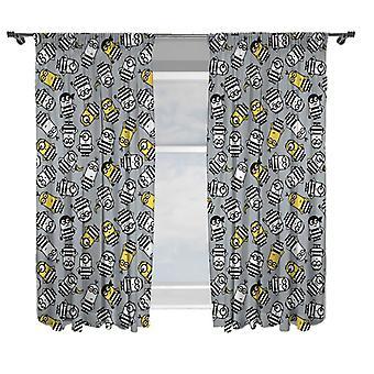 Esbirros cortinas 168 x 183 cm