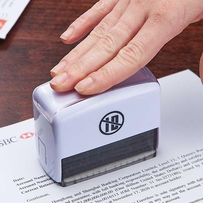 Jumbo ID protection stamp