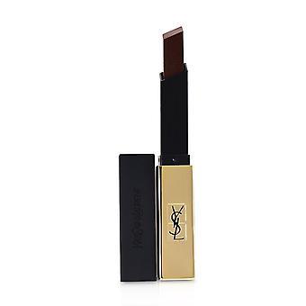 Yves Saint Laurent Rouge Pur Couture das schlanke Leder Matt Lippenstift - 22 ironische Burgund - 2,2 g/0,08 Oz
