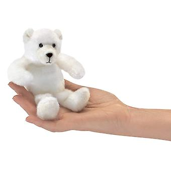 Finger Puppet - Folkmanis - Mini Polar Bear New Toys Soft Doll Plush 2770