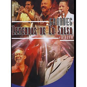 Grandes Leyendas de la salsa en vivo [DVD] importação EUA