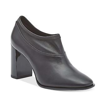 DKNY dam Sade läder stängd tå stövlar fotled mode
