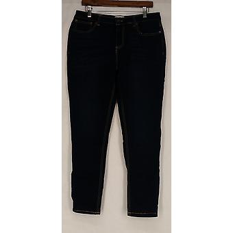 OSO Casuals Jeans 5 Pocket Slim Leg Jean Dark Blue A419523