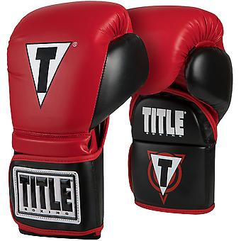 Title Boxing Tactical Catch-N-Return Boxing and MMA Trainer's Mitts - Red/Black