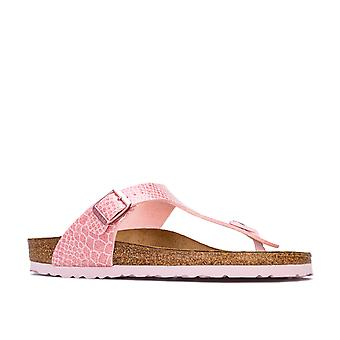 Junior Girls Birkenstock Gizeh BF Sandals in Pink