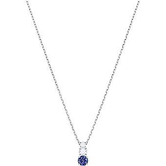 Swarovski Necklace with Brass Woman Pendant - 5416156