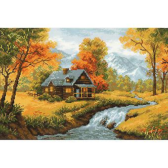 Autumn View Counted Cross Stitch Kit 15