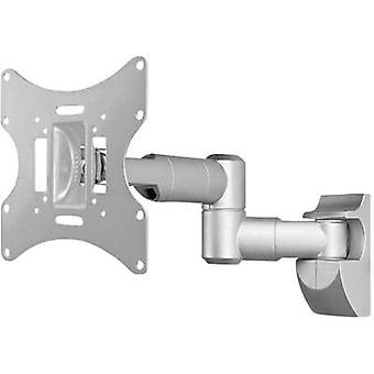 TV wall mount 43,2 cm (17) - 106,7 cm (42) Swivelling/tiltable Goobay TV EasyScope Twin M