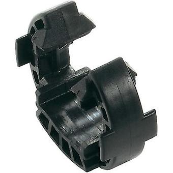 SAFETY-CLIP WM4 VPE10 Black Weidmüller Content: 1 pc(s)