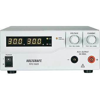 Bench PSU (adjustable voltage) VOLTCRAFT PPS-11603 1 - 60 Vdc 0 - 2.5 A 160 W USB , Remote programmable No. of outputs 2